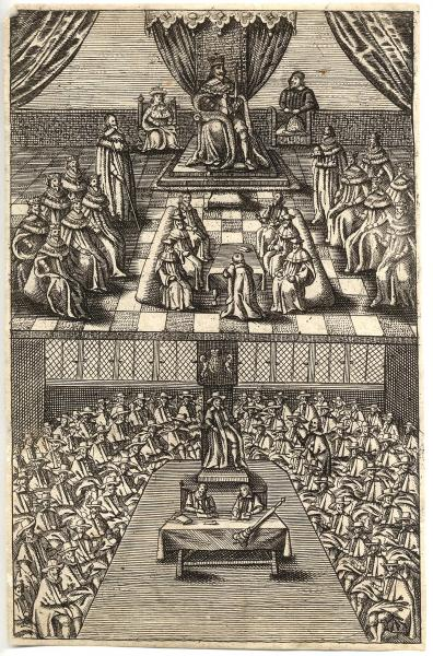 Parliament In 1643 From An Exact Collection Of All Remonstrances